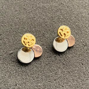 Tory Burch Tricolor Mash-Up Earrings